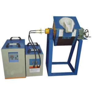 induction melting copper furnace