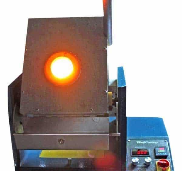 Gold melting tilting furnace