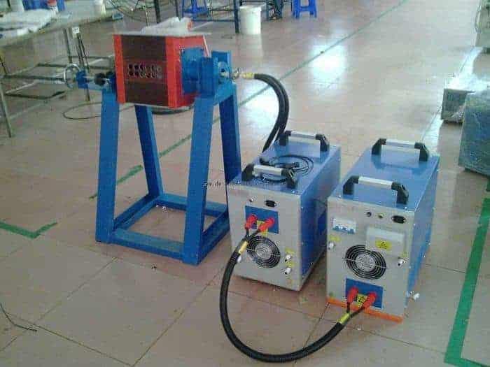forno de fusión de indución