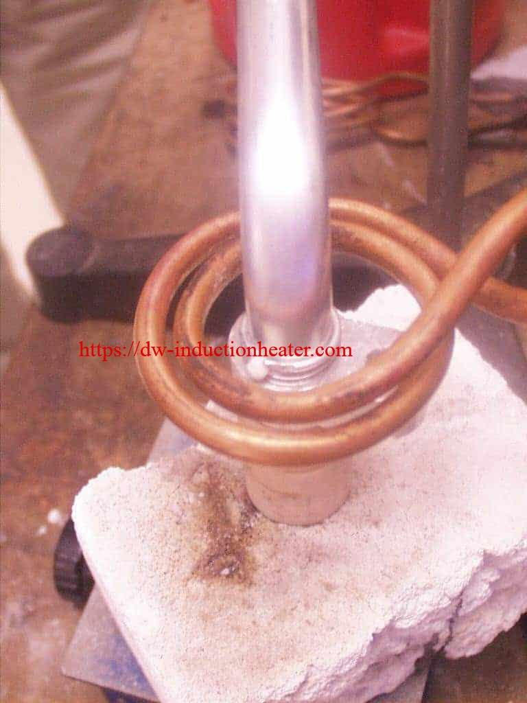 Induction Brazing Aluminum Automotive Assembly 15kw 30 80khz All Solid State Heater Heating Melting Furnace