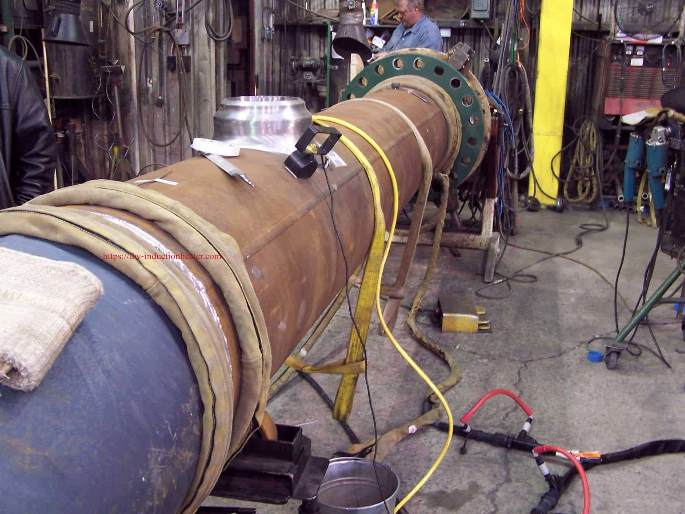 Induction Preheating Pipeline System Machine Equipment