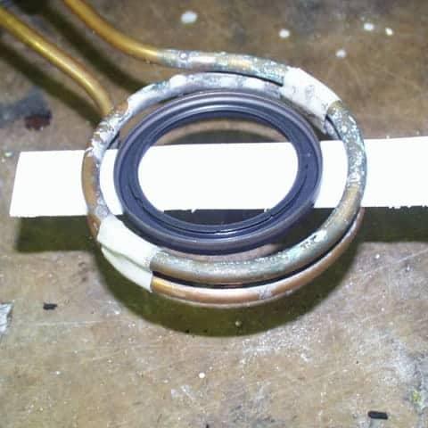 induction bonding plastic ring