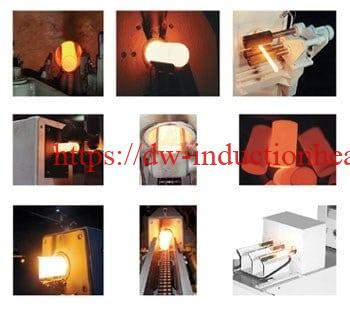 Medium frequency induction heating
