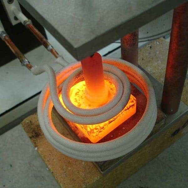 induction brazing heater process