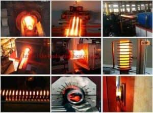 IGBT საშუალო სიხშირის ცხელი ფორმირების პროცესი