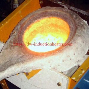 induction smelting process process