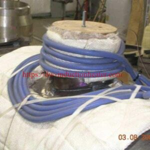 induction preheat welding treatment