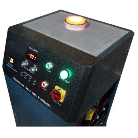 induction melting gold furnace