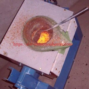 aluminium melting furnace with induction
