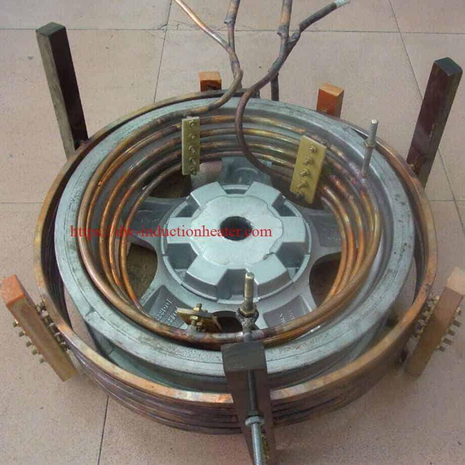 induksjonsoppvarming aluminium auto hjulnav
