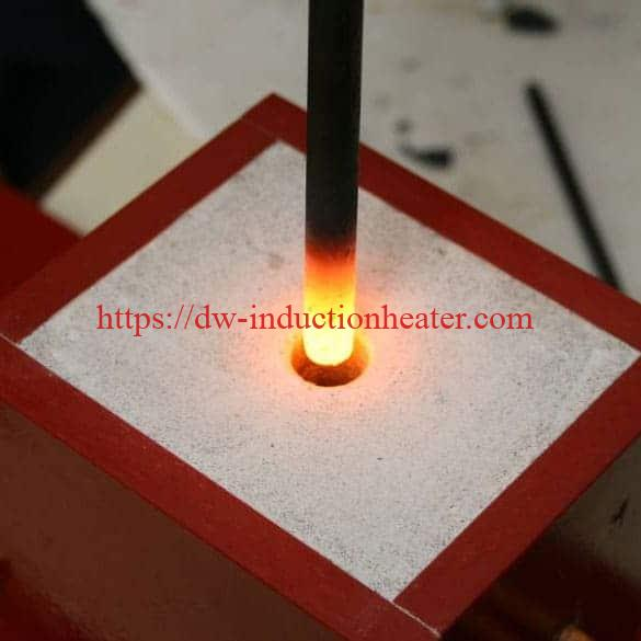 Induction-preheating-carbide-steel-rivets