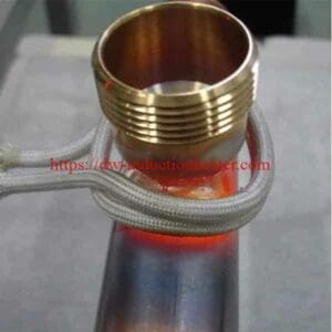 induction brazing-steel-to-brass
