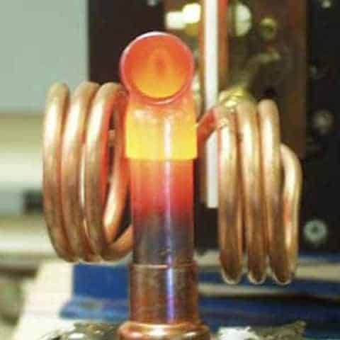 Induction Brazing Stainless Steel Tubes With Induction Heater