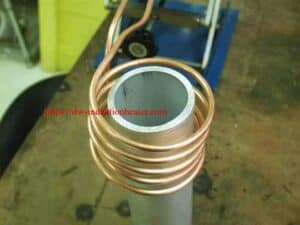 induction heating aluminum pipe