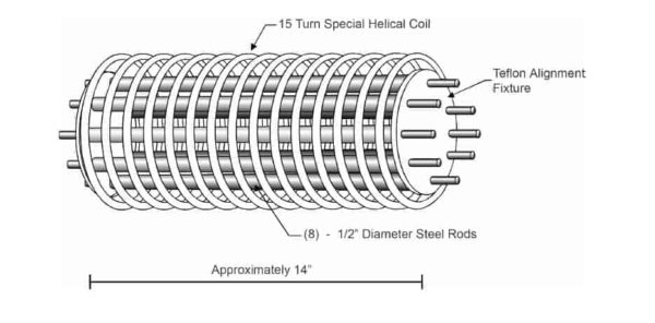 induction-heating-eight-steel-rods