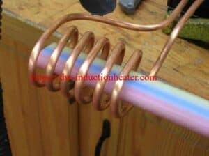 induction heating pipe pipe alang sa pagkuha sa plastik