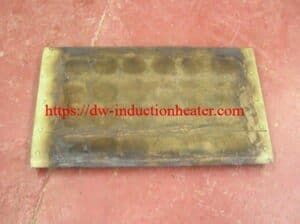 induction heating plate of steel