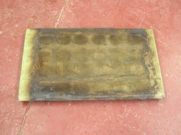 plaque d'acier de chauffage par induction