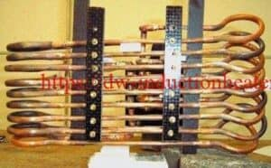 induction heating steel plate