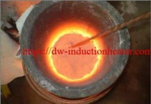 induction melting copper