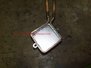 induction soldering steel cover