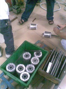 stator fit shrink and rotor