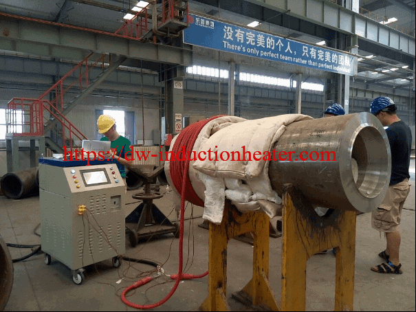 induction preheating process