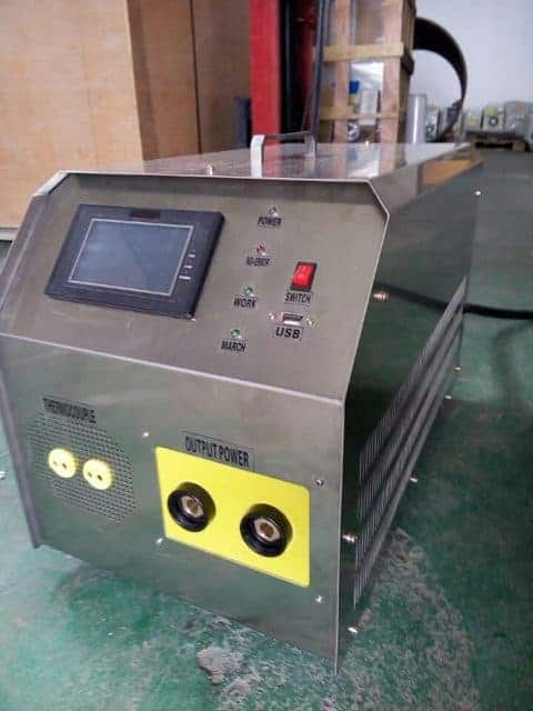 Portable Induction Preheat Welding System