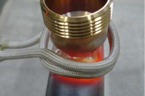 Induction brazing system