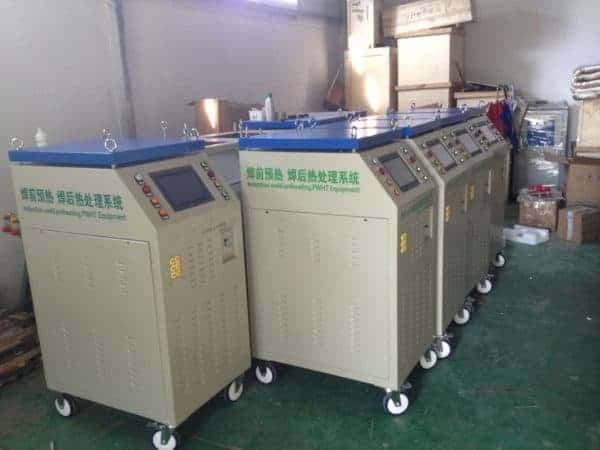 induction preheat welding machine