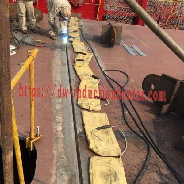 PWHT welding preheating shipboard