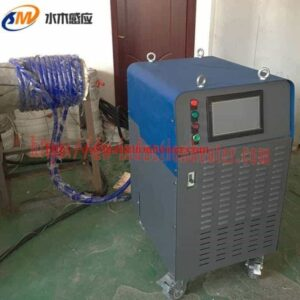Post a welding machine of heat treatment