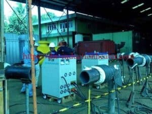 વેલ્ડીંગ મશીન માટે preheating