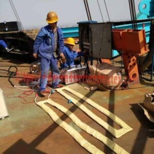 pre-escalfar la soldadura del vaixell d'acer PWHT