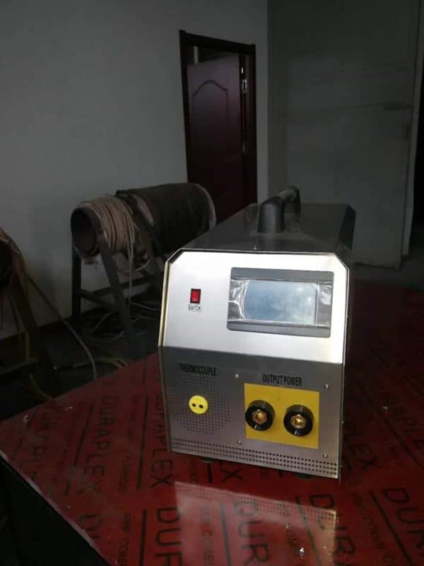 Portable preheat welding machine
