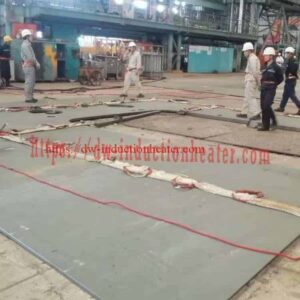 PWHT welding steel boardboard