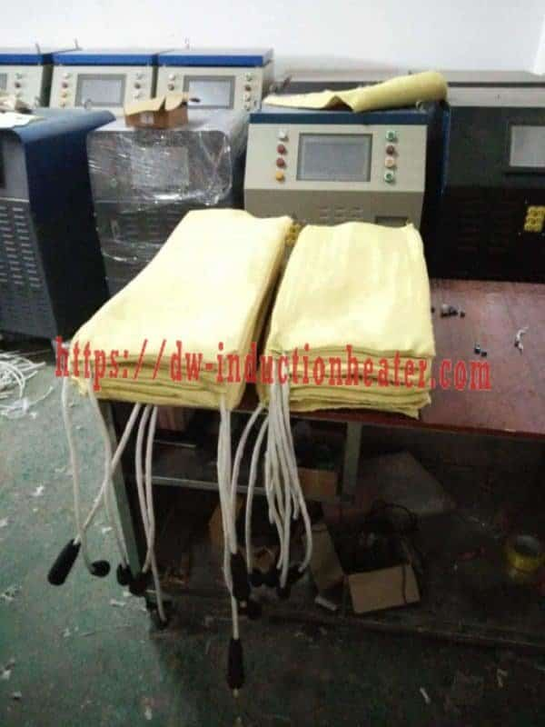 Induction PWHT preheat welding system