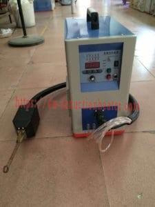 Handheld induction brazing heater