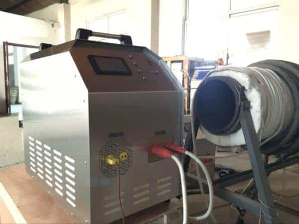 Prenosni stroj za predgrevanje PWHT
