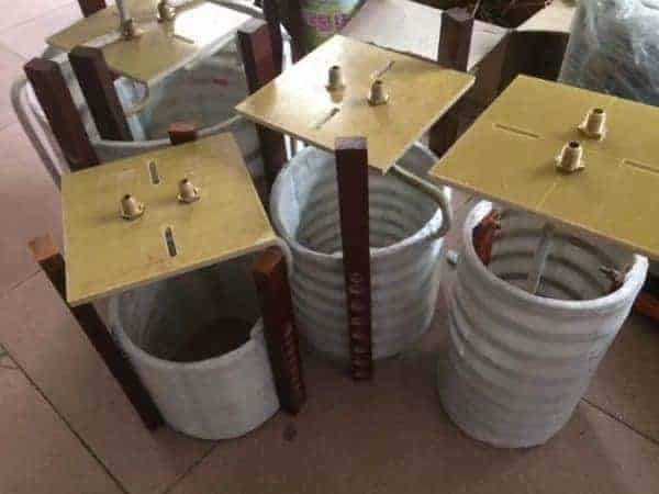 electricmagnetic induction heating coils