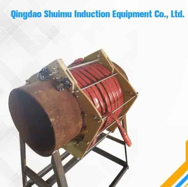 Induction heating clamp coil