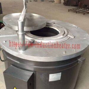 Aluminium induction melting furnace