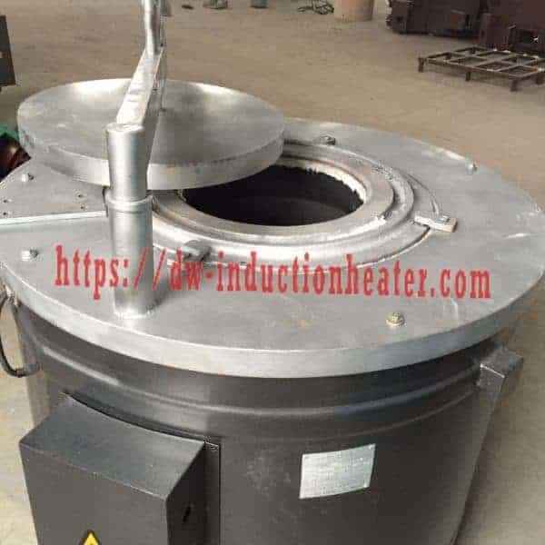 Horno de fusión de indución de aluminio