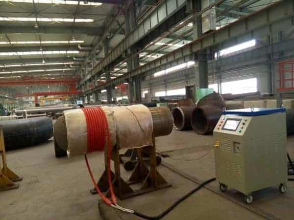 induction preheating weld heat treatment