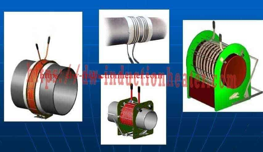 induction preheat welding coil