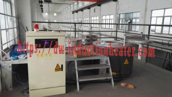 melting aluminum furnace with induction