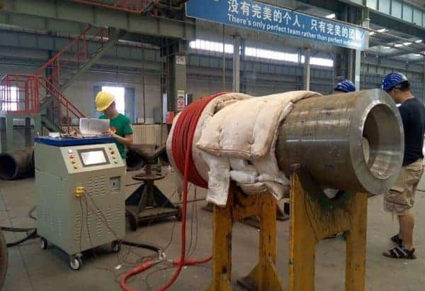 pipeline PWHT after welding machine