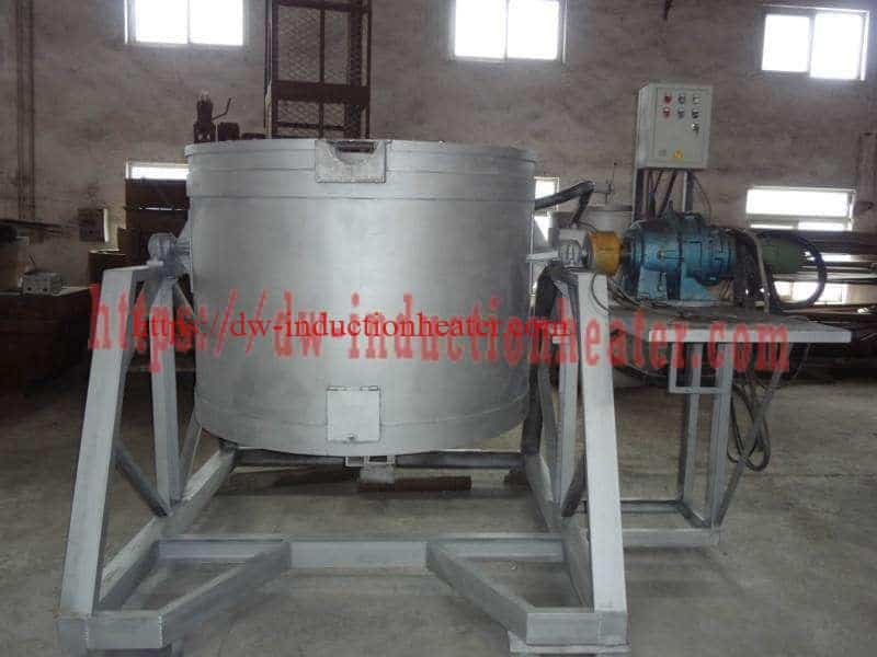 induction aluminum melting furnace