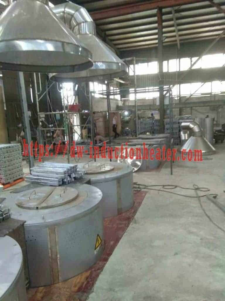 Induction Aluminum smelter