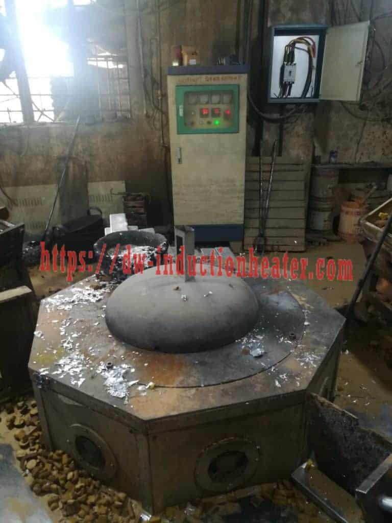 Fundición de indución de aluminio